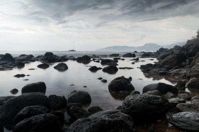 Sardinia storms